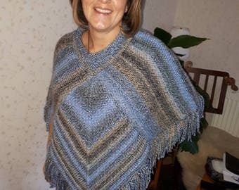 clothing, women's clothing, Ponchos, poncho, knitted, Ladies, Handmade, knitwear, made to order