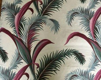 Bark cloth fabric panel   SALE!