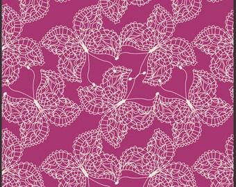 1 Yard of Bijoux Mystic Traveler Magenta by Bari J for Art Gallery Fabrics
