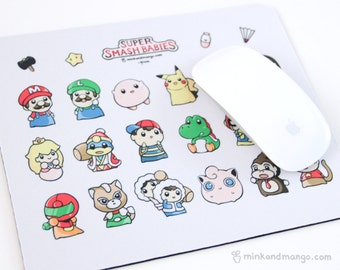 Super Smash Babies Mousepad