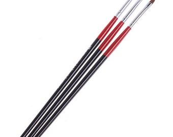 Nail Art Design Pen Brush 3 PCS Painting Dotting Drawing Set