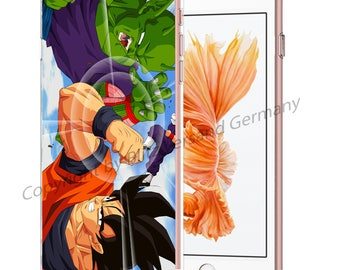 DRAGONBALL Z Smartphone transparent TPU Case with motif fit for Smartphone models Huawei iphone SAMSUNG Cartoon Comic M6