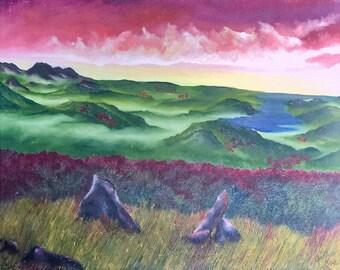 Be Still, Original Oil Painting on Canvas