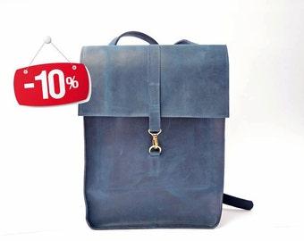 Leather backpack, school backpack, mens backpack, leather rucksack, leather backpack women, leather bag, leather laptop backpack, travel bag