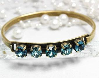 Turquoise ID Bracelet Cuff