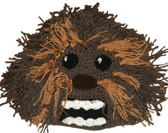 Star Wars Inspired Hand Crocheted Wookie Hat HH099