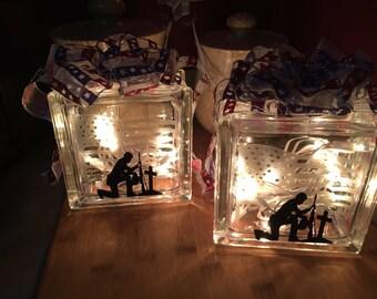 Remembrance Glass Cubes