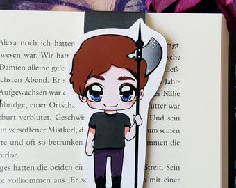 """Magnetic Bookmark """"Noah""""-inspired by Chaoskuss by Teresa Sporrer"""
