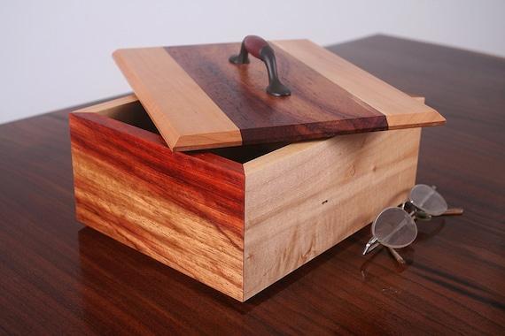 FireSide Jewelry Box Custom Box Series Keepsake Box Cherry