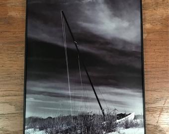Sailboat Photo / 8x10 Photo Print / Sailboat in Dune