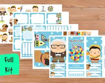Adventure Planner Kit - Happy Planner - Planner Stickers - Diary - Organiser