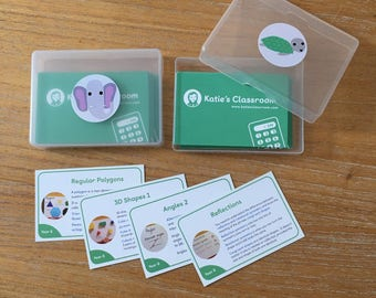 Year 6 Maths Cards Pack 1 and Pack 2