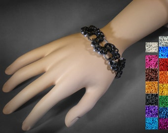Slitherin Snake Chainmaille Bracelet - Customizable Handmade to Order - 14 Colors for Endless Possibilities