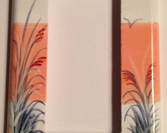 Sand Dune with Sea Oats  Single Rocker Lightswitch cover