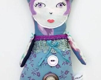 Handmade Art Doll - Mavis