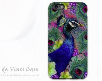 Apple iPhone 6s Plus Case - Artistic Peacock iPhone 6 Plus Case - Nemali Dreams  - Colorful Floral Tough Case For 6 Plus Models