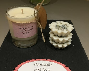 Spring Awakening Fragrance Oil Soy Wax Candle
