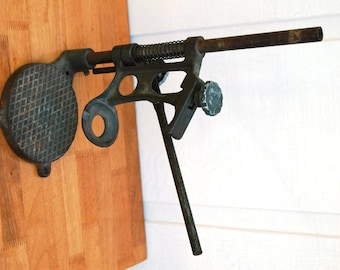 Antique Drill Press for Hand Drill SW1401 Cast Iron and Adjustable   01074