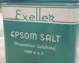 Exeller Epsom Salt Tin