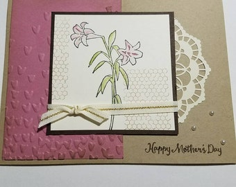 Lovely Mother's Day card