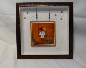 A card frame