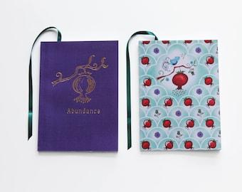 Pomegranate Abundance Notebook Set