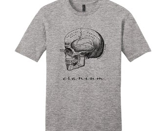 Unique Mens Shirts Mens Skull Shirt Vintage Anatomy T-Shirt Anatomy Shirt Science Shirt Biology Shirt Graduation Medical School Gift Science