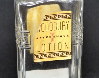 Woodbury Aftershave Lotion Bottle