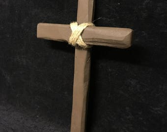 Wooden witch Hunters Cross
