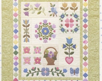 Gracies Garden Sampler  Quilt Pattern by Brandywine Designs