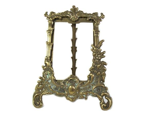 Vintage Brass Rococo Frame