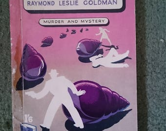 The Purple Shells by Raymond Leslie Goldmam vintage detective fiction