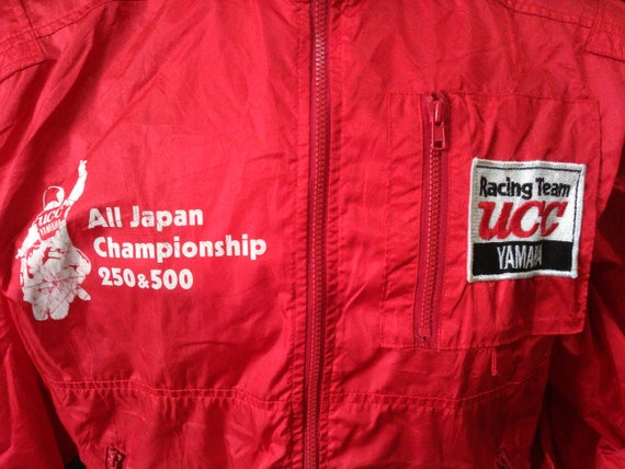 Vintage Yamaha Riding Wear Vintage Yamaha Jacket Yamaha UCC Racing Team