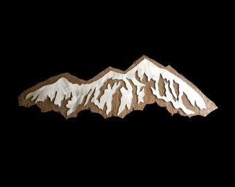Metal artwork, Metal wall art, Wall art, Mountain wall art, Mountain home, Home decor, Aspen Vail Breck, Bedroom,Nature landscapes,Metal art