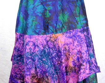 MEDIEVAL SKIRT HIPPIE boho maxi Gypsy babacool skirt Gypsy dance one size boho maxi skirt 34/42 jtda11