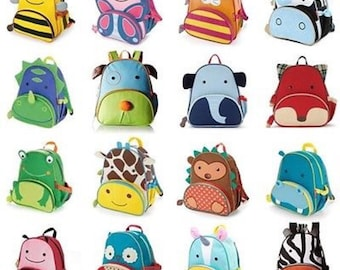 Monogrammed Toddler Backpacks, Backpacks, Preschool backpack