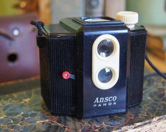 Vintage Camera - Ansco Panda  - Cute!