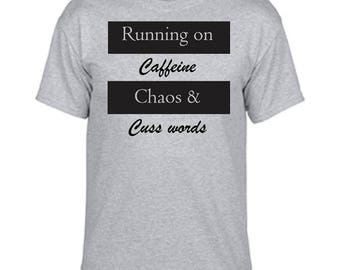 Running on Caffeine, Chaos and Cuss words