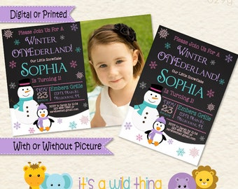 Snowflake Onederland, Winter Onederland, Snowflake Onederland Invitations Winter Onederland Invitations Girl Snowflake Snowflake Party Ideas
