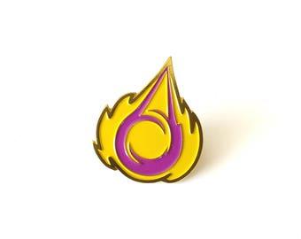 Moira Coalescence Brass Enamel Pin
