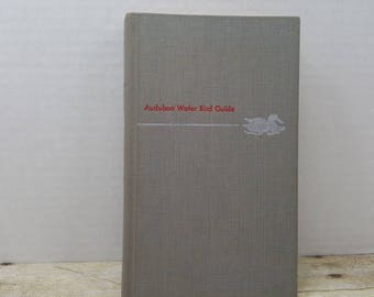 Audubon Water Bird Guide, 1951, Richard Pough, vintage bird book