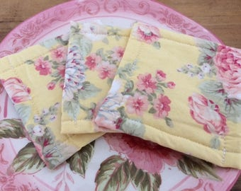 Urban UnSponge, Dish Cloth, Eco Friendly Reusable Washable Sponge, Shabby Chic Farmhouse Chic Florals, by CHOW with ME