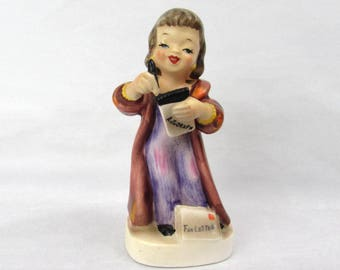 Lefton Actress Fan Letter Figurine - 1957 - Japan