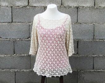 Handmade Summer Tunic Blouse