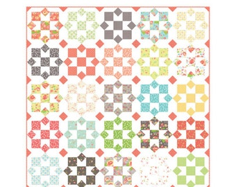 Sunny - Fat Eighth friendly Quilt Pattern by Corey Yoder for Coriander Quilts