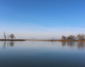 Blue Skies and Blue Waters
