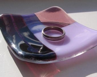 Purple Small Glass Bowl