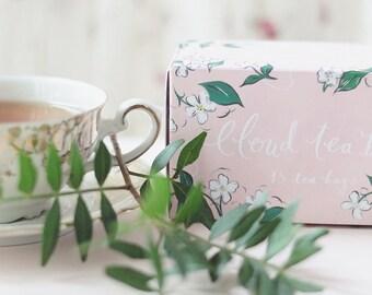 Box of 15 cloud shaped tea bags - Silver