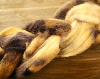 Smokey Horizon 86g Merino Wool roving braid