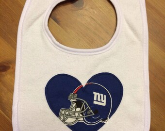 New York Giants Heart Bib